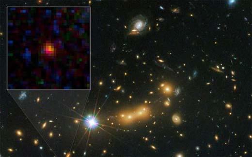 NASA encuentra lejano objeto en el Universo