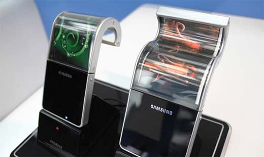 Samsung prepara pantallas flexibles