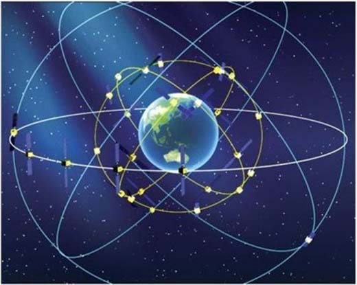 BeiDou, competencia china de GPS estadounidense disponible para los usuarios en china