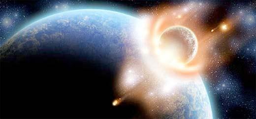 El fin del mundo en el 2012 provocado por el choque de un meteorito