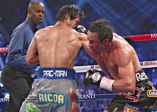 Juan Manuel Márquez, el golpe que noqueó a Manny Pacman Pacquiao y lo dejó inconsciente por largo tiempo