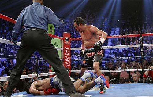 Márquez derrotó a Pacquiao
