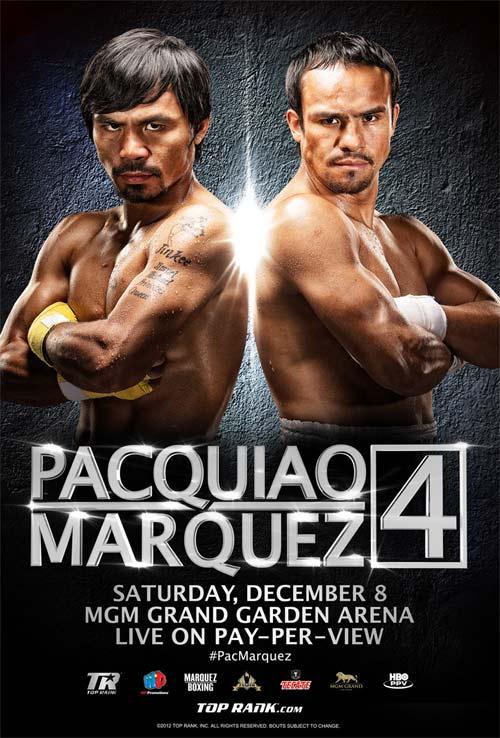Marquez contra Pacquiao online