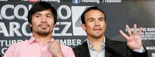 Manny Pacquiao Vs Juan Márquez 5. Quinta pelea entre Manny Pacquiao y Juan Manuel Márquez en donde se definen otras cosas