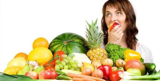 Frutas y Verduras para una vida saludable