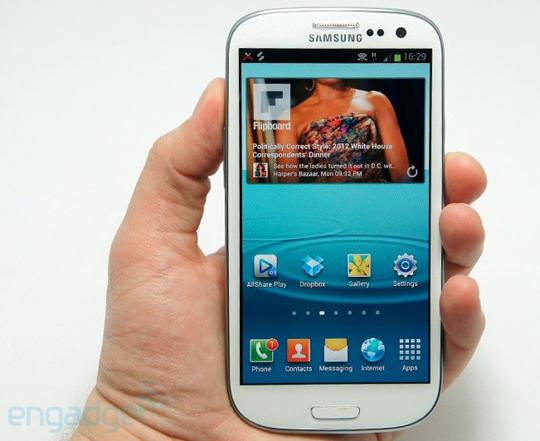 Samsung Galaxy SIII el más vendido