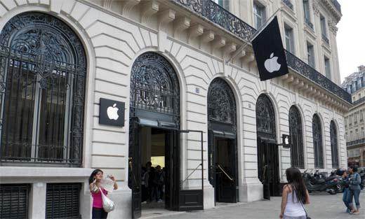 Tienda de Apple en París, Francia