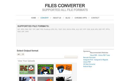 Convertidor de archivos