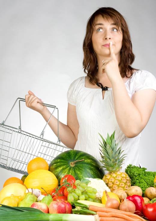 vida saludable. consejos para llevar la dieta. bajar de peso