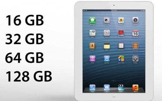iPad con más capacidad