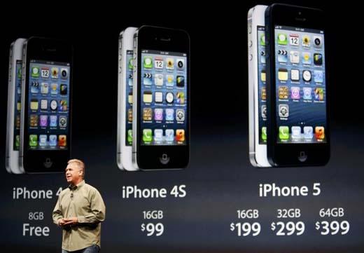 Generación de iphone, ventas