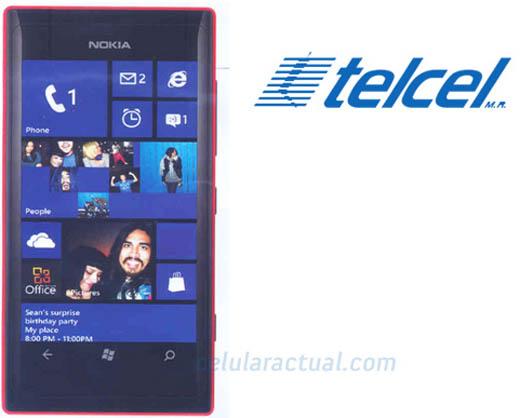 Nokia Lumia 505 Telcel. Venta en Mexico