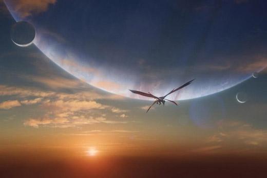 Planeta nuevo parecido a Pandora