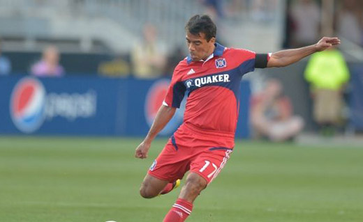 Pavel Pardo en el Chicago Fire