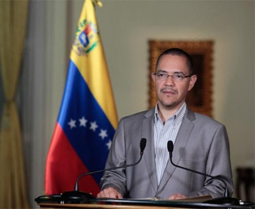 Ministro de comunicación de Venezuela , Ernesto Villegas