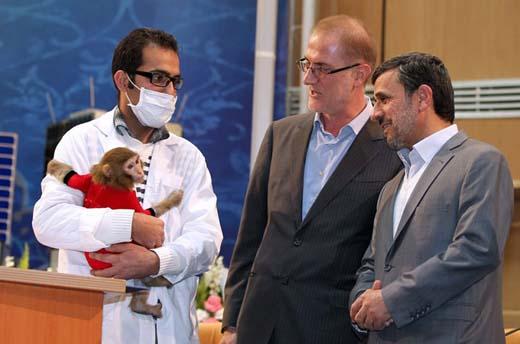 Ahmadineyad primer astronauta