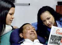Manipulan Foto de Hugo Chávez (dice experto) en fotografía digital