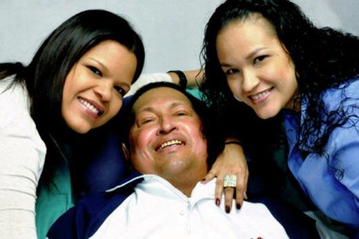 Hugo Chávez recuperándose del cáncer en Cuba