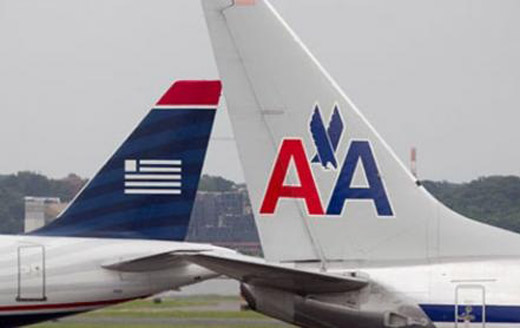 American Airlines y US Airways fusionados