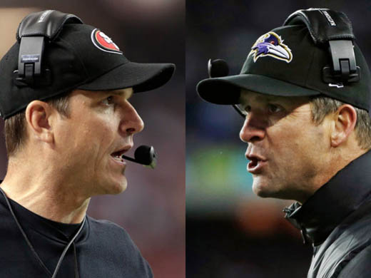 Baltimore vs San Francisco, Harbaugh