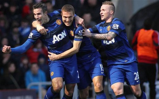 Manchester United gana al Sunderland