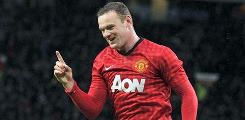 Wayne Rooney mete un gol y casi es campeón de la Premier League 2013