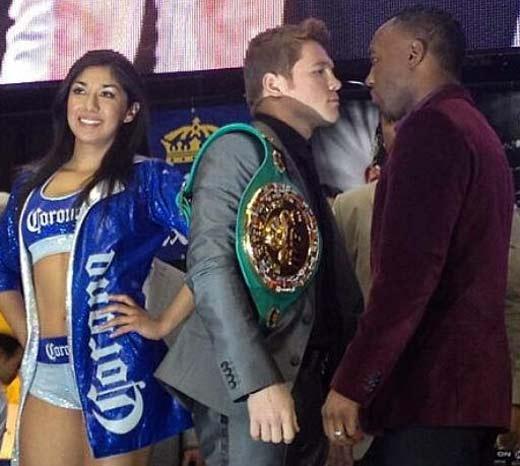 Canelo Álvarez se enfrenta a Austin Trout el 20 de Abril de 2013