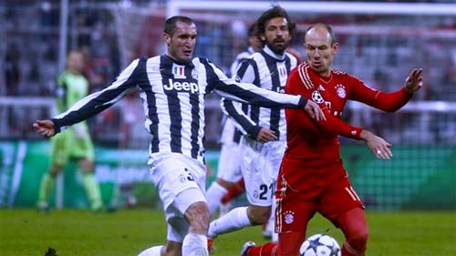 Juventus vs Bayern Munich cuartos de final