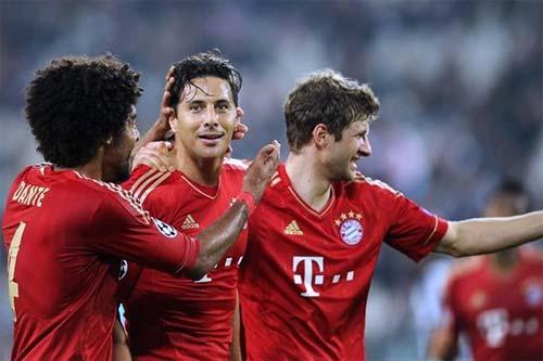 Juventus vs Bayern Munich champions league