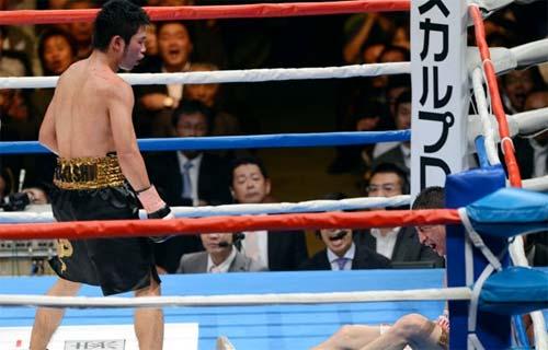 Miura vs Diaz boxeo