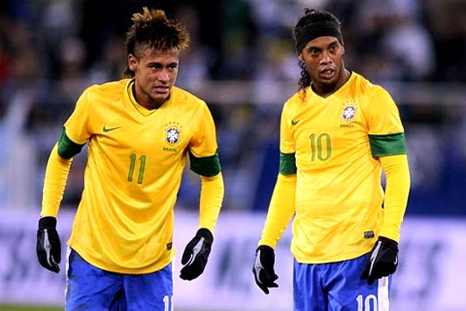 Ronaldinho y Neymar convocados