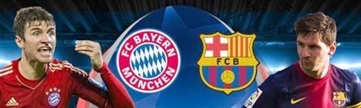 Bayern Munich gana al Barcelona en los juegos de ida