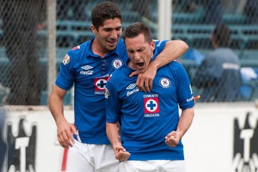 Cruz Azul 1-0 Santos con gol  de chaco
