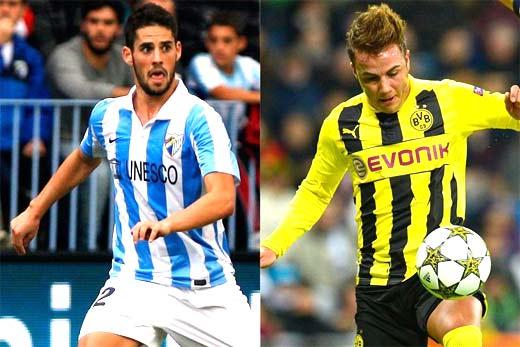 Borussia Dortmund vs Malaga champions league