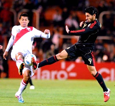 México vs Peru previo