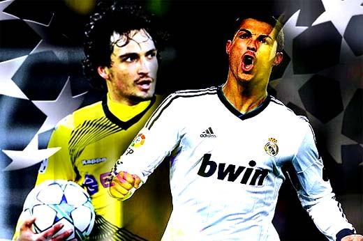 Real Madrid vs Borussia Dortmund vuelta