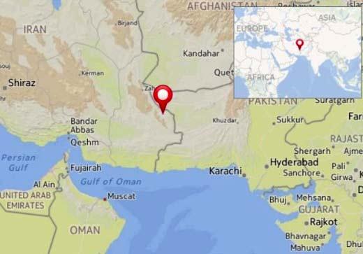 Terremoto entre Irán y Pakistán ha dejado un saldo de 40 muertos