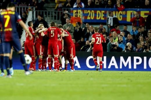 Barcelona 0-3 Bayern Munich semifinal