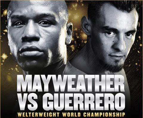 Floyd Mayweather vs Robert Guerrero 5 de mayo