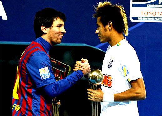 Neymar ficha con el Barcelona