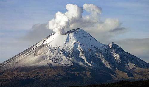 Volcanes en Mexico
