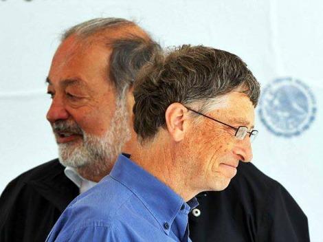 Bill Gates es el mas rico