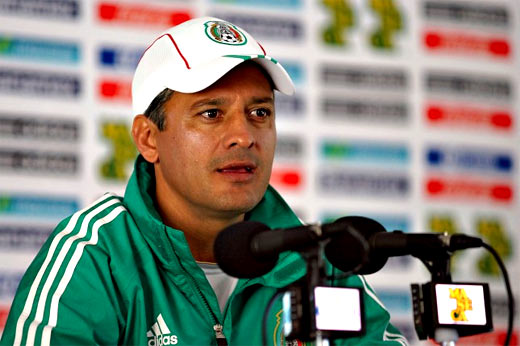 Sergio Almaguer espera