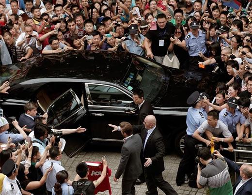 David Beckham en china