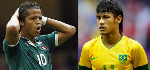 Mexico vs Brasil previo