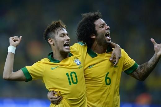 Brasil 2-1 Uruguay los cariocas