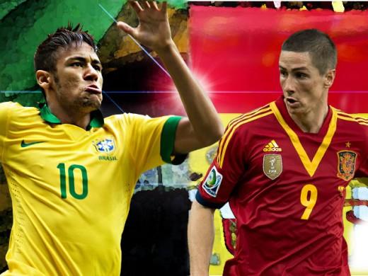Brasil vs España previo