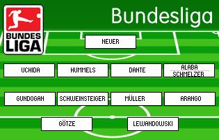 Bundesliga mejor 11