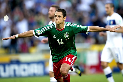 Javier Hernandez goles