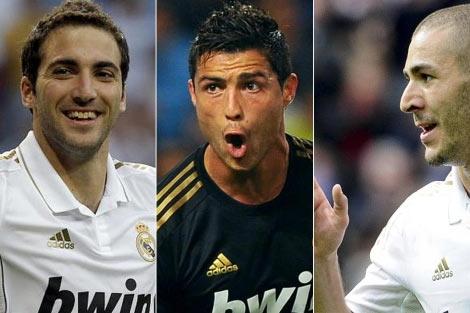 Delanteros del Real Madrid